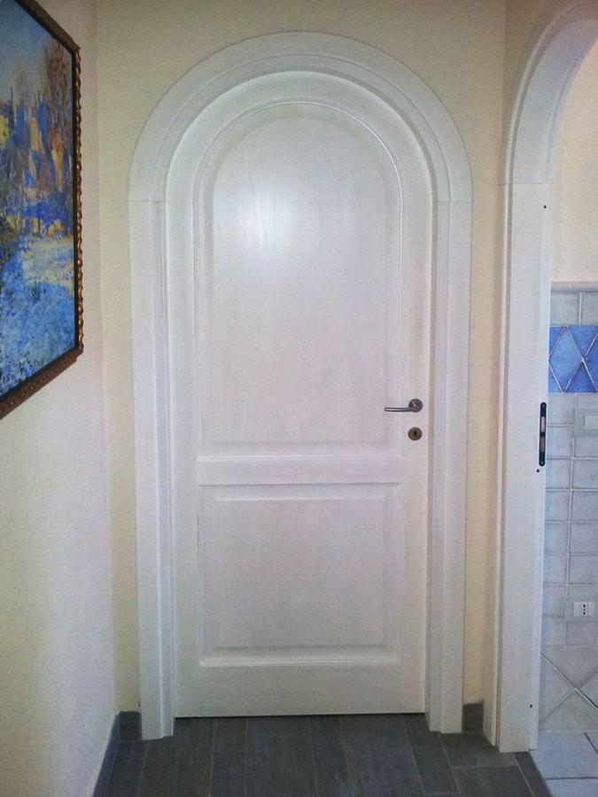 Porta ad arco falegnameria fratelli floris villasimius sardegna - Porte interne ad arco ...